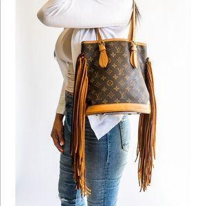 Louis Vuitton Vintage Boho Bag Petit Tote